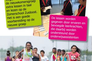 Folder Zomerschool NIEUWKOMERS - 2