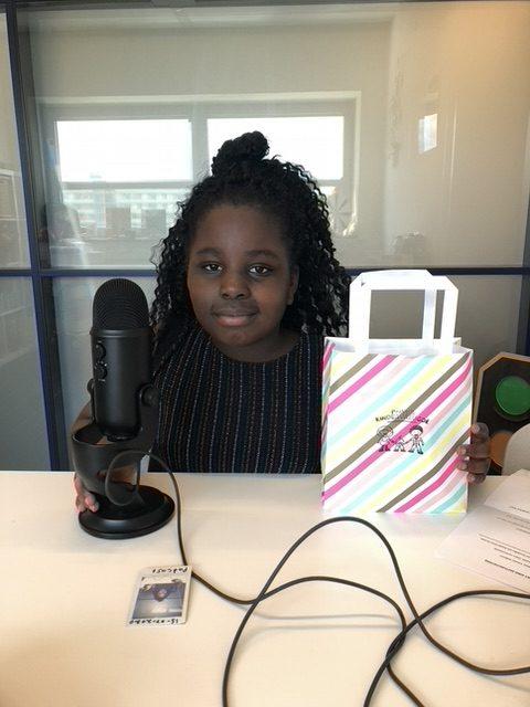 Dit keer ging Warsha in gesprek met de 8-jarige Chardayne over o.a. over haar 5D ervaring bij this is Holland. Luister je mee? Klik op de foto van Chardayne.
